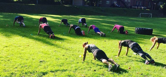 Group Outdoor Workout